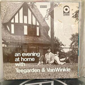 TEEGARDEN VAN WINKLE An Evening At Home LP 1968 Atco ORIG US PRESS shrink EX