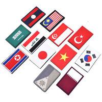 National Flag  Embroidered Badge Patch Sew Applique Badge Emblem DIY Crafts HU