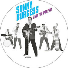 CHAPA/BADGE SONNY BURGESS AND THE PACERS . carl perkins rockabilly elvis presley