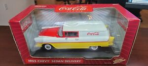 1955 Coca-Cola Chevy Sedan Delivery 1:18 Johnny Lightning Die-Cast