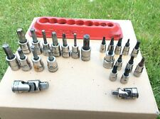Snap on and Blue Point Job lot of Sockets and Magnetic Tray Available Worldwide