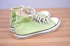 CONVERSE High Tops Lime Green Made in USA Men's 7