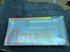 Vintage Hayes Smart Modem 300 (No Power Supply or Cables)