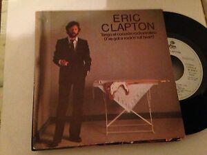 """ERIC CLAPTON - I'VE GOT A ROCK N ROLL HEART 7"""" SINGLE PROMO SPAIN BLUES ROCK"""