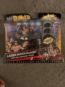 WWE Wrestling Rumblers John Morrison Ladder Match Mini Figure Playset
