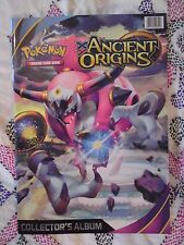 POKEMON XY ANCIENT ORIGINS Card Album NEW EMPTY Topps Merlin Panini Pikachu Toy