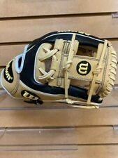 """Wilson A2000 Black/ Tan Infield Glove-Model 1786-11 1/2""""-Brand new with tags"""