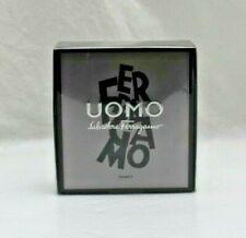 UOMO By Salvatore Ferragamo Mini Kit EDT Spray 5ml + Shower Gel 5ml New In Box