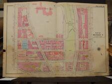 New York, Manhattan Map, 1914 Sacred Heart, Amsterdam to 8th, St. Nicholas R3#74