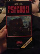 Psycho 2 VHS Horror Rare