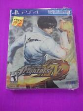 NEW ~ King of Fighters XIV (Sony PlayStation 4, 2016) PS4 Region Free STEELBOOK