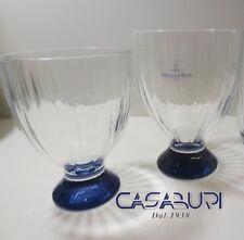 Villeroy & Boch Artesano Original Blue Set Bicchieri 8 Pz (Acqua-Vino)