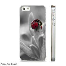 LADYBIRD NATURE WILDLIFE NEW CASE FITS  IPHONE 4 4S 5 5S 5C 6 6S 7 8 SE PLUS X