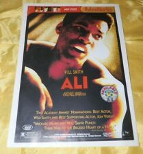 """May, 2002 Video Works Magazine-Will Smith as """"Ali"""" and Tom Cruise-PENNY SALE!"""
