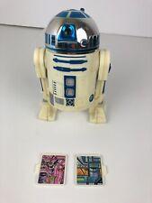 "Vintage Star Wars R2D2 8 / 12 inch complete w/ Plans 1978 8"" 12"" Hong Kong"