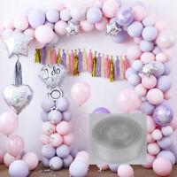 5 m palloncino catena nastro arco collegare striscia per matrimonio compleannYBH
