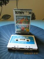 Amstrad cpc 464 game OLYMPIAD 86 BY ATLANTIS