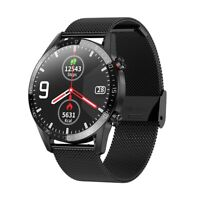 L13 Waterproof IP68 ECG Blood Pressure Oxygen Monitor Sports Tracker Smart Watch