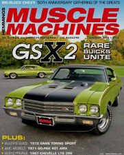 NEW! American Muscle 1971 BuickGSX in Limemist Green Hemmings Cover Car AMM1117