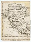 NICARAGUA+COSTA+RICA+DATED+1754+SCHLEY+BELLIN+NICE+ANTIQUE+antique+map