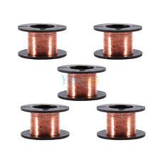 5pcs 0.1mm Copper Soldering Solder PPA Enameled Magnet Reel Wire Length 15m New