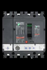 SCHNEIDER 160 AMP 36kA FOUR POLE MCCB NSX160F LV430780