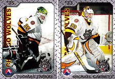2005/06 AHL Chicago Wolves Team Issued Set