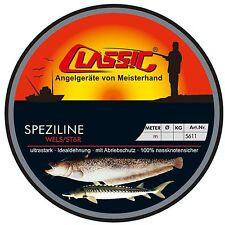 (0,05€/1m) Paladin Classic Speziline Wels Stör transparent 100m 0,60mm 21kg