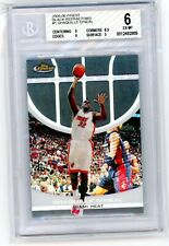 New listing 2005/06 Topps Finest Black Refractors #1 Shaquille O'Neal #01/19 BGS 6