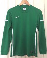 Nike Men's Green Dri Fit Long Sleeve Football Sweatshirt Top Size S