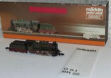 Märklin 88982 Mini Club Dampflok BR 4943 Elberfeld G8 KPEV OVP TOP Zustand Z