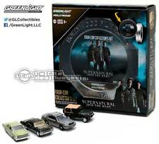 Hollywood Film Reels series Supernatural 4 voitures cars Greenlight Impala 1/64