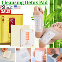 50PCS Detox Foot Pads Patch Detoxify Toxins Adhesive Keeping Fit Health Care USA
