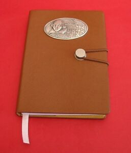 Shakespeare Globe Theatre A6 Tan Notebook Commemorative Gift History Gift NEW