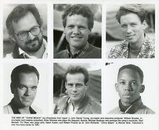BRIAN WIMMER ROBERT PICARDO TIM RYAN CHINA BEACH MEN ORIGINAL 1989 ABC TV PHOTO