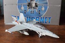 """Franklin Mint B11B201- F18 Hornet Us Marine Corps Vmfa (Aw) 225 """"Viking"""" & Box"""