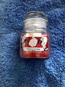 Wickford & Co 5oz / 70g Rose & Amber mini jar Candle - FREE POSTAGE
