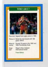 (Jm841-100) RARE,Q.O.S Who Am I ,Frano Botica ,Rugby 1994 MINT