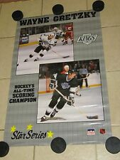 THREE Wayne Gretzky Posters.  1989, 1991 & early 1990's All Poster Poster