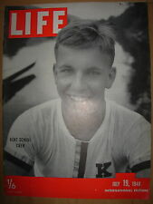 VINTAGE LIFE MAGAZINE JULY 19th 1948 THE WAR MEMOIRS OF WINSTON CHURCHILL PART 6