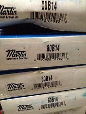2 New MARTIN 80B14 14T TEETH # 80 ROLLER CHAIN SINGLE ROW