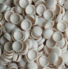 50 2 pieza grande de cúpula de Gris Plata Tapón de Rosca Cubre Tapas De Snap Pro-DEC Fijaciones *