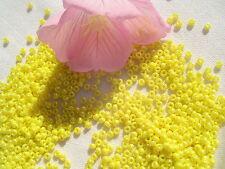 11/0 Toho Seed Beads 87-Op Lustered Dandelion/28 grams  #128