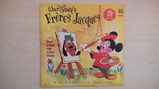 Walt Disney's FRERES JACQUES 45 RPM 1961