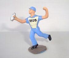 Figurine Salza tour de France pour coureur cycliste ravitailleur Teka n°5
