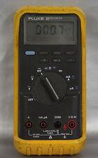Fluke 83 Electronic Multimeter GOOD WORKING ORDER (Needs new Leads)