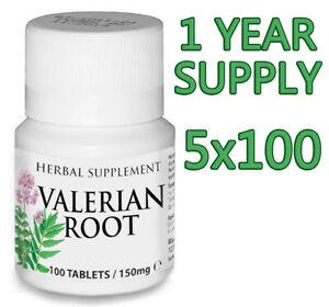 500 Comprimés Valeriane Naturel Somnifè Pour Insomnie Anxiete Depression Stress