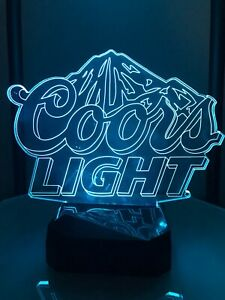 Coors light Multicolor nightlight