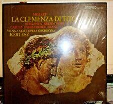 "MOZART ""La Clemenza Di Tito"" 3 LP, KERTESZ, Vienna State O.O. BRAND NEW, SEALED"