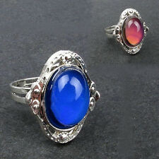 Fashion Temperature Control Color Changing Magic Vintage Mood Ring Adjustable
